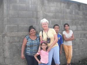 Making friends in Santa Patricia